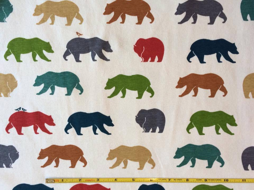 Birch Organic knit Bear Hike Multi