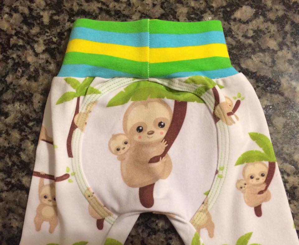 Cute Sloths baby 3 pc set