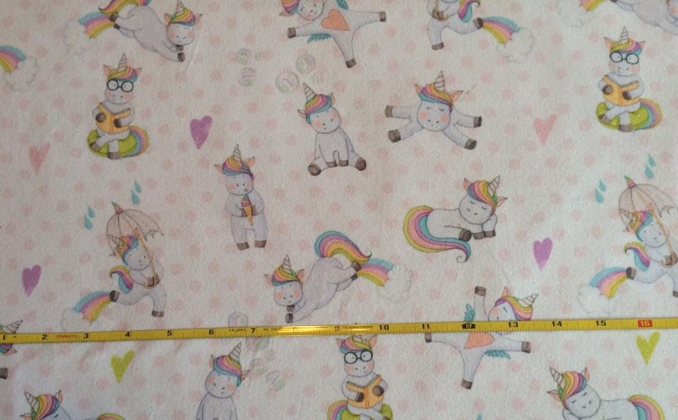 Unicorn Rainbow cotton lycra