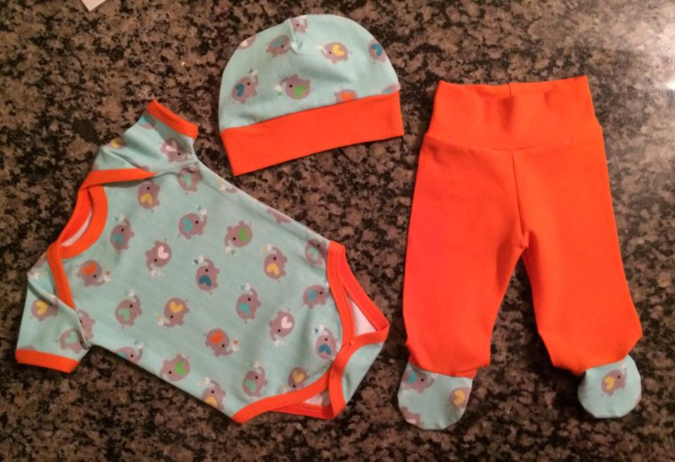 Elephant Baby 3 pc set