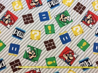 SC-Disney 63883 Super Mario Game Time Knit