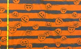Halloween Pumpkin Stripe